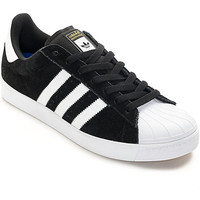 adidas Superstar Vulc ADV Black & White Skate Shoes