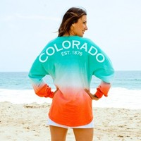 Colorado EST. 1876 Ombre Spirit Football Jersey®