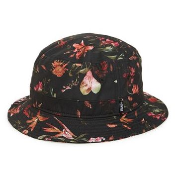Men's Vans 'Undertone' Floral Print Bucket Hat,