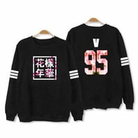 Bangtan Boys Kpop BTS Women Hoodies Sweatshirts Letter Printed in J-HOPE 94 and SUGA 93 Women xxxl Hoodies JUNG KOOK 97