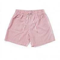 Boardies Deck Stripes Pink Mid Length Swimming Shorts - Swimming Trunks - Clothing | Shop for Men's clothing | The Idle Man