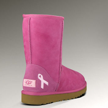Womens Classic Short-Breast Cancer Limited Edition by UGG Australia