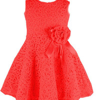 Girls Lace Casual Dress