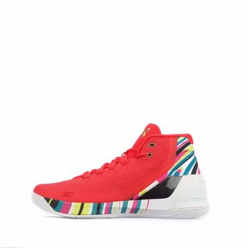 Under Armour Curry 3 Men's Basketball Shoes in Rocket Red