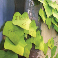 Korean leaf sticky notes creative stationery post papeleria notepad filofax memo pads office supplies school christmas