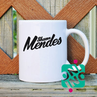 Shawn Mendes Coffee Mug, Ceramic Mug, Unique Coffee Mug Gift Coffee