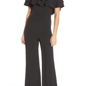 Socialite Ruffle Front Jumpsuit | Nordstrom