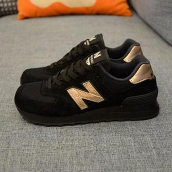 New balance abric is breathable n leisure sports Couples forrest gump running Khaki