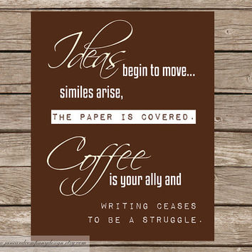 Coffee is Your Ally Buy 1 Get 1 Coffee by JaneAndCompanyDesign
