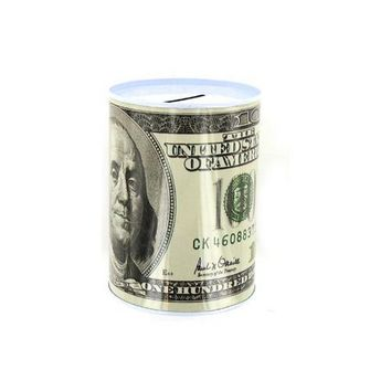 20 50 100 Dollar Bill Tin Money Bank ( Case of 96 )