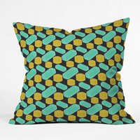Caroline Okun Hidden Gem Throw Pillow