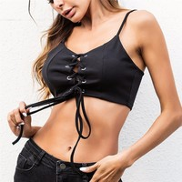 Brandy Melville Crop Tops Strappy Lingerie Sheer Lace Bra Top