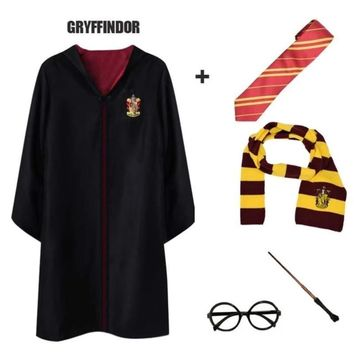 Kids and Adult Harry Potter House Uniform Halloween Costume