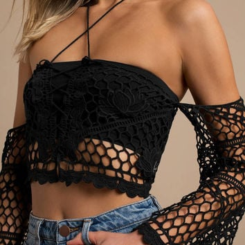 Hold Tight Crochet Crop Top