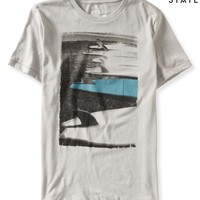 Mens Free State Surfboards Graphic T-Shirt
