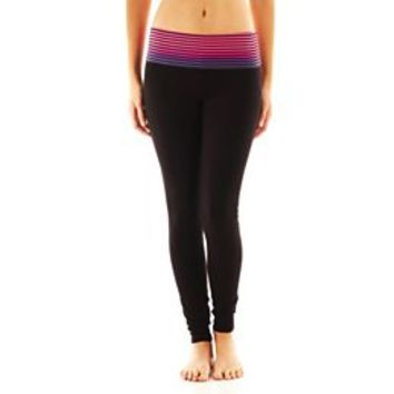 City Streets® Foldover Yoga Pants