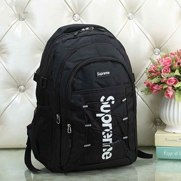 Supreme women Bag Shoulder School Bag Backpack