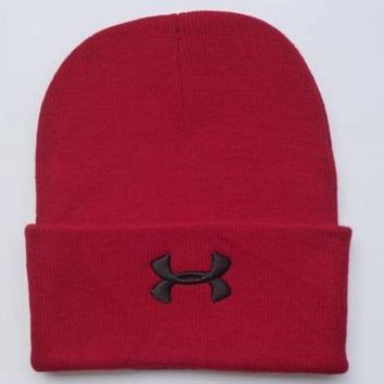 DCCKUH3 Under Armour Women Men Embroidery Knit Hat Beanie Cap Hat