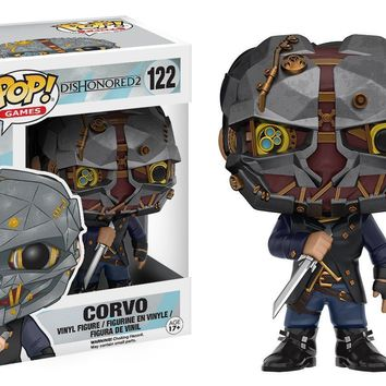 Corvo Dishonored 2 Funko Pop! Games Figure #122