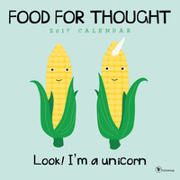 Food For Thought Wall Calendar