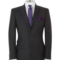 Piccadilly Regular Fit 3-Button Charcoal Suit | T.M.Lewin