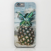 Pineapple Dreams iPhone & iPod Case by Sandy Broenimann