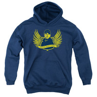 NCIS/GO NAVY-YOUTH PULL-OVER HOODIE - NAVY -