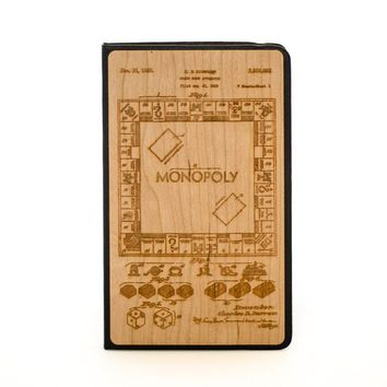 Monopoly Patent - Wooden Journal