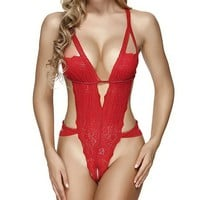 Sexy Lace Teddy Lingerie for women Babydoll