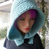 Textured Hooded Cowl