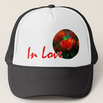 Red tulip - Mystery of blooming Trucker Hat