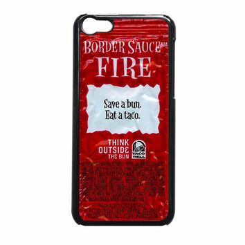 Taco Bell Packet Fire iPhone 5c Case