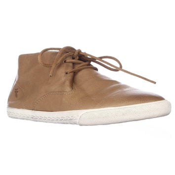 Frye Mindy Chukka High-Top Sneaker - Camel