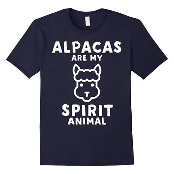 Alpacas Are My Spirit Animal T-Shirt