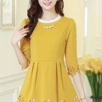 Fairy Cutout A-line Dress