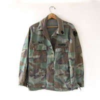 Vintage men's army shirt. military jacket.