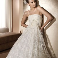 Cheap Pronovias Ifigenia Elie by Elie Saab Collection - Only USD $344.80