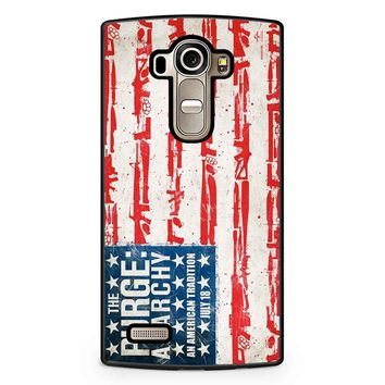 The Purge Anarchy Flag LG G4 Case