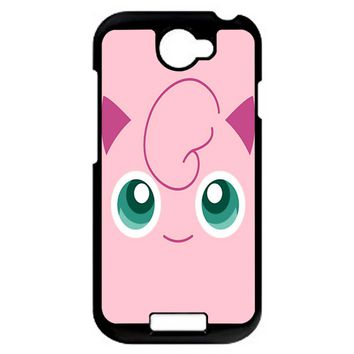 Jigglypuff Face Pokemon HTC One S Case