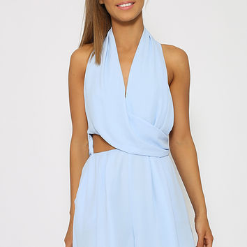 Sixty Seven Playsuit - Blue