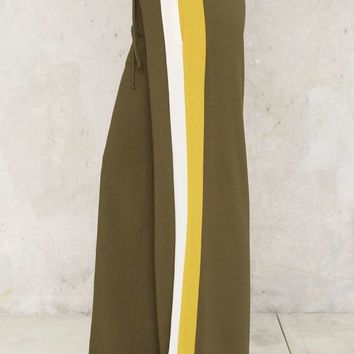 Right on Track Wide-Leg Pants
