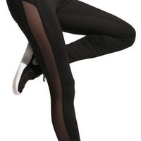 Open Sided- Mesh Leggings