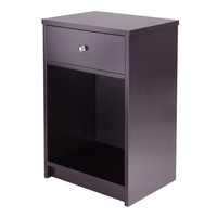 Squamish Accent Table with 1 Drawer, Espresso Finish
