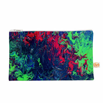 """Claire Day """"Free Falling"""" Green Abstract Everything Bag"""