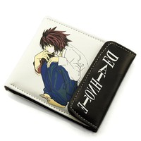 Death Note L. Lawliet Short Style Wallet