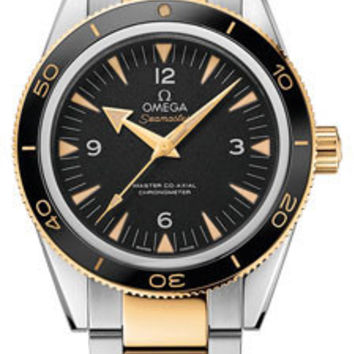 Omega - Seamaster 300 Omega Master Co-Axial 41 mm - Steel and Yellow Gold