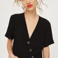 Asymmetric Blouse - Shirts & Blouses - Clothing