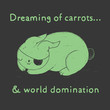 Dreaming of carrots Art Print | Society6