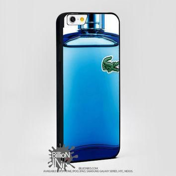 Lacoste Perfume Bottle Blue For Apple, Iphone, Ipod, Samsung Galaxy Case