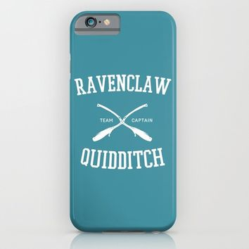 Hogwarts Quidditch Team: Ravenclaw iPhone & iPod Case by IA Apparel